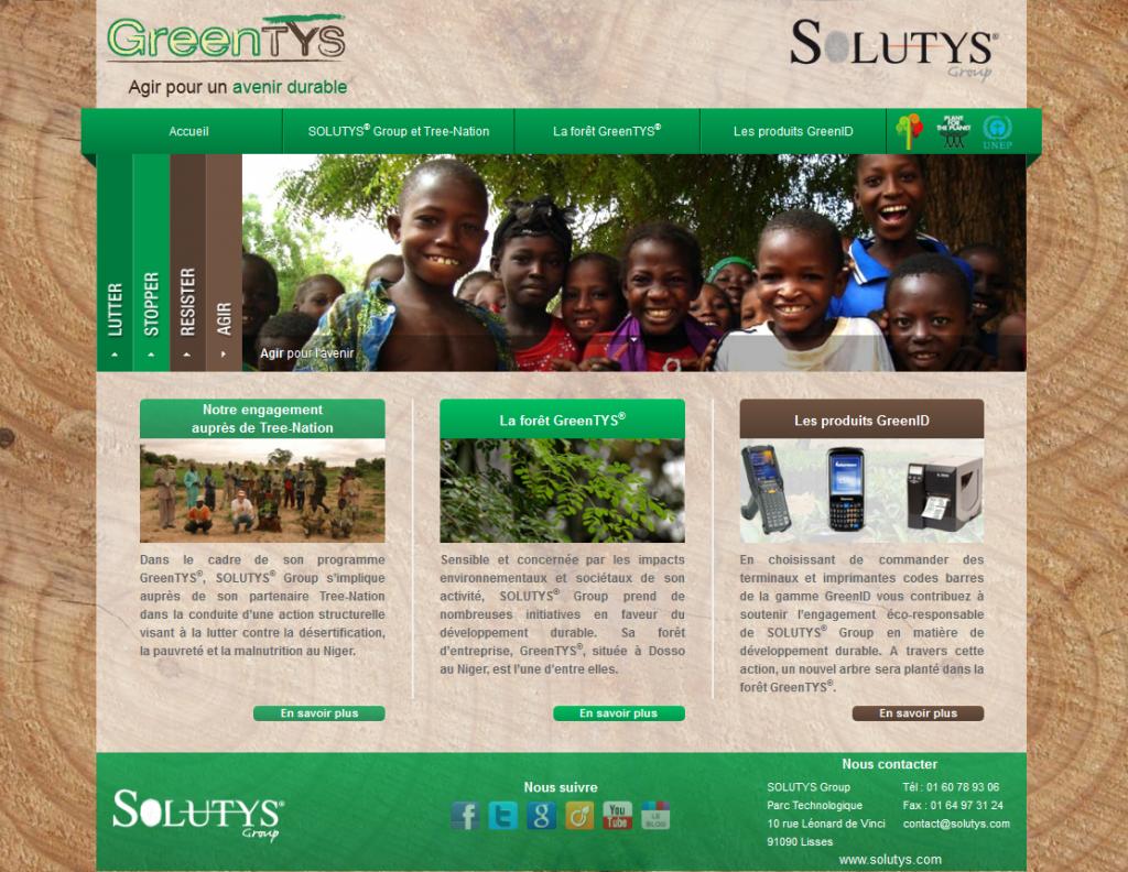 GreenTYS : l'action en faveur du développement durable de SOLUTYS Group