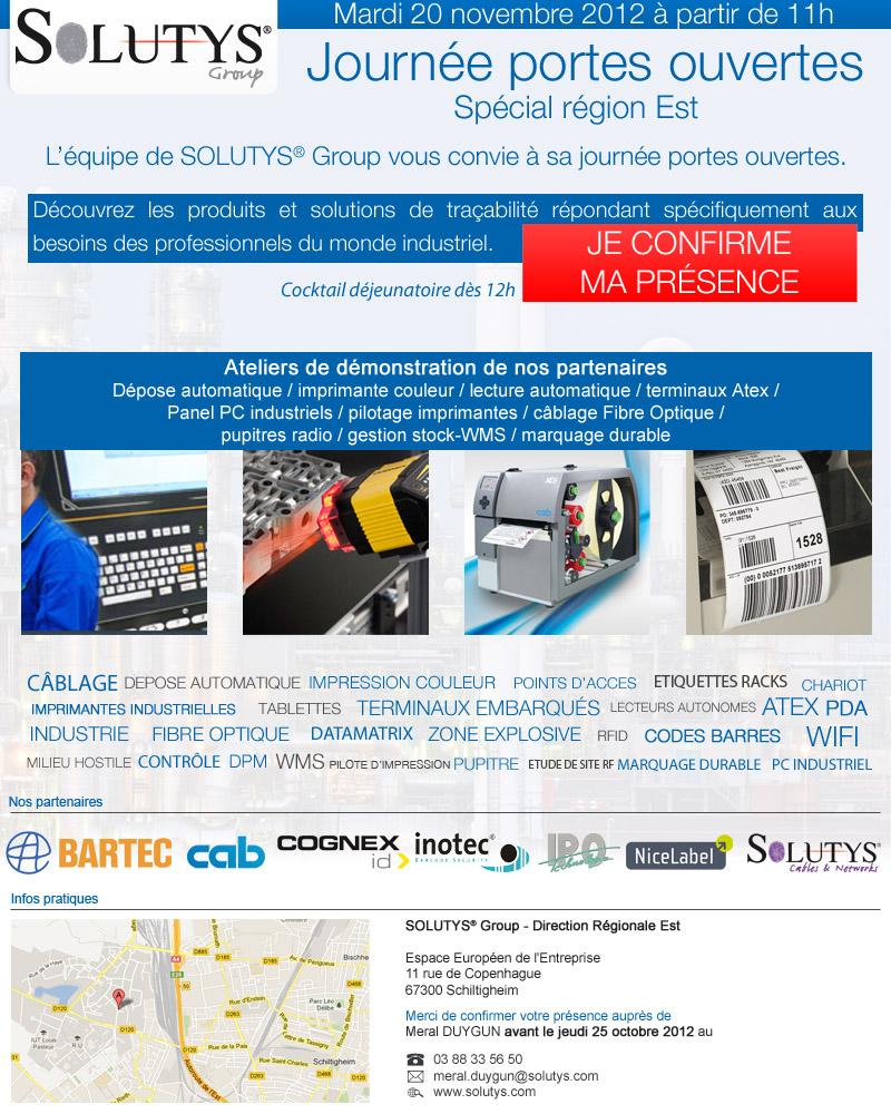Journée Portes Ouvertes - Solutys group