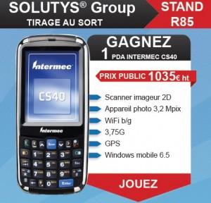 Gagnez un PDA INTERMEC CS40